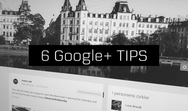 Tips for Google+ for Business