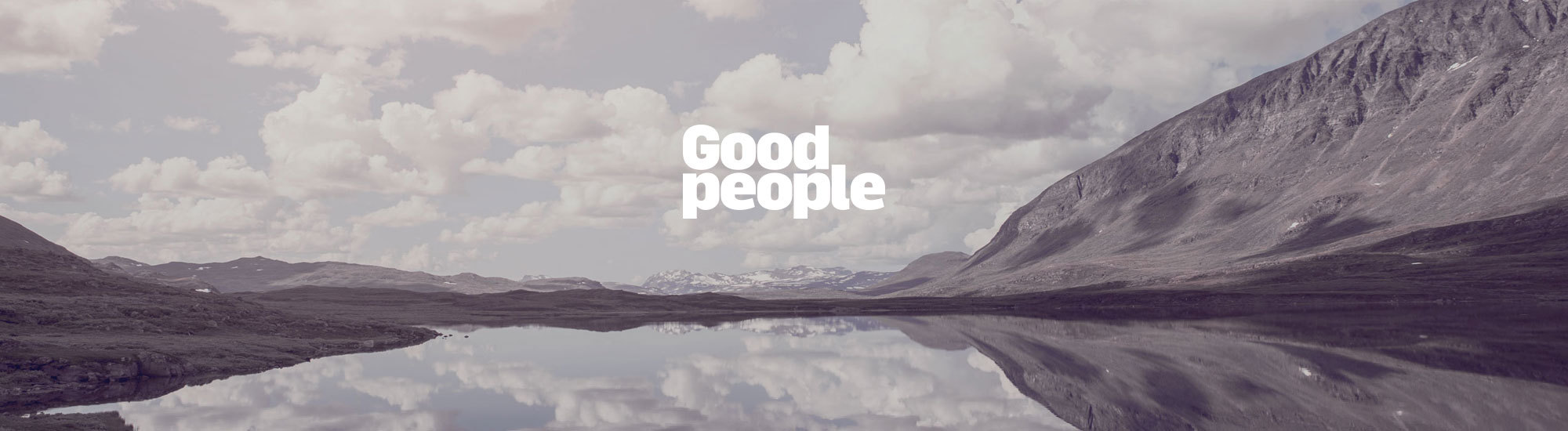 Good people banner