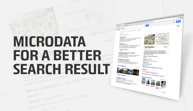 microdata for a better search result